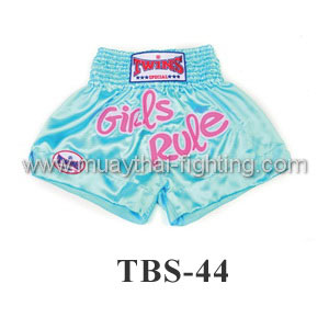 Twins Special Muay Thai Shorts Girl Rule TBS-44