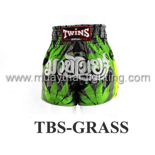Twins Special Muay Thai Shorts Grass TBS-GRASS