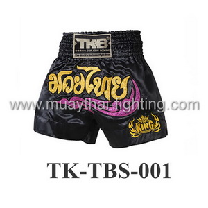 Top King Black Kanok Shorts TK-TBS-01
