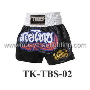 Top King Black White Kanok Shorts TK-TBS-02