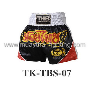 Top King Black Red White Nokkab Shorts TK-TBS-07
