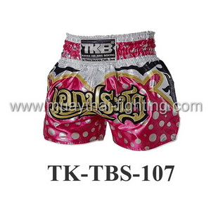 Top King Shorts TK-TBS-107 Pink White Polka Dots