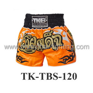 Top King Muay Thai Shorts TK-TBS-120 Orange Wan Padej