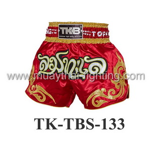 Top King Shorts TK-TBS-133 Red Lom Ta Lay