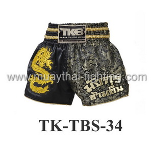 Top King Dragon Over the Place Muay Thai Shorts TK-TBS-34