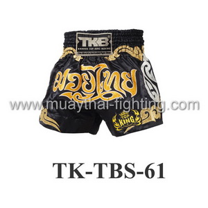 Top King Muay Thai Shorts TK-TBS-61 Black Gold