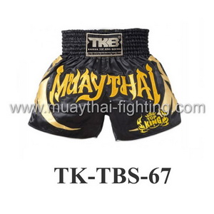 Top King Muay Thai Shorts TK-TBS-67 Black Gold