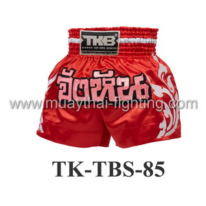 Top King Muay Thai Shorts TK-TBS-85 Red Junghan