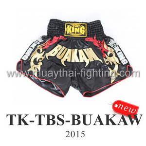 Top King Muay Thai Shorts Black Buakaw TK-TBS-Buakaw