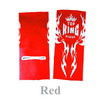 Top Kings Tatoo Ankle guard TKANG-2-red