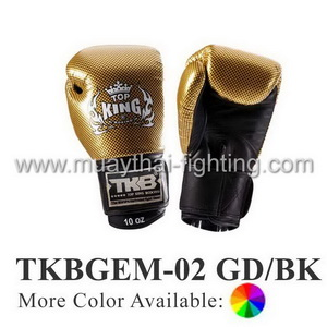 TOP KING Boxing Gloves Empower Creativity TKBGEM-02 Gold