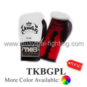 Top King Boxing Gloves Pro Lace Up TKBGPL