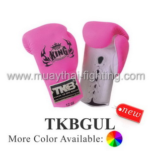 Genuine Leather Black Boxing Gloves