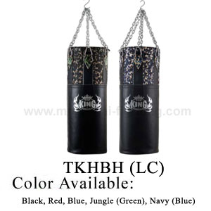 TOP KING Heavy Bags Half leather and Half Combat Nylon TKHBH (LC
