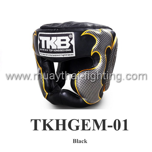 Top King Head Guard Empower Creativity TKHGEM-01 Black