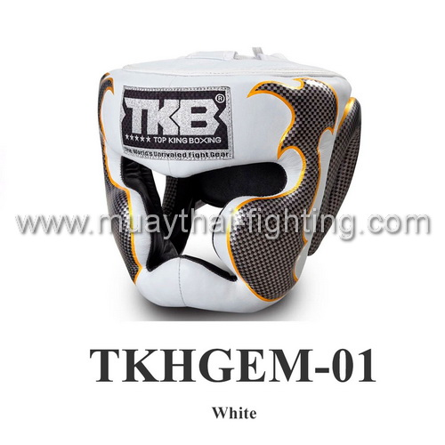 Top King Head Guard Empower Creativity TKHGEM-01 White