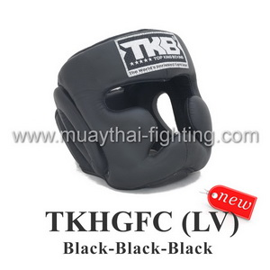 Top King Head Guard Full Coverage training TKHGFC (LV) BK/BK/BK