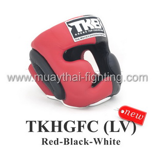 Top King Head Guard Full Coverage training TKHGFC (LV) RD/BK/WH