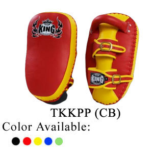 TOP KING Kicking pad Pro Curved Buckle TKKPP (CB)