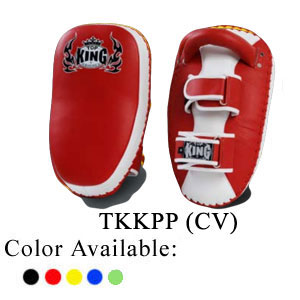 TOP KING Kicking pad Pro Curved velcro TKKPP (CV)