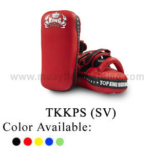 TOP KING Kicking Pads Super Straight Velcro TKKPS(SV)