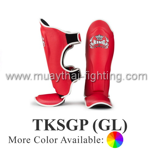 TOP KING Shin Guard Pro Genuine leather TKSGP (GL) Special Color