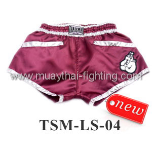 ThaiSmai Lady Shorts TSM-LS-04 Red Purple