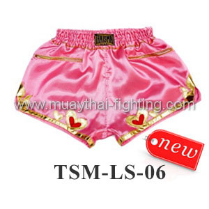 ThaiSmai Lady Shorts TSM-LS-06 Pink with Heart