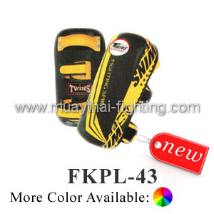 Twins Special Kicking Pads Stripe Design FKPL2-43