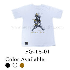 Human Fight Muay Thai Cotton t-Shirts-FG-TS-01