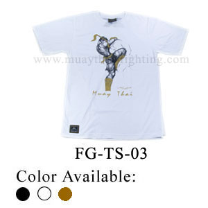 Human Fight Muay Thai Cotton t-Shirts-FG-TS-03