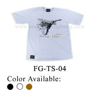 Human Fight Muay Thai Cotton t-Shirts-FG-TS-04