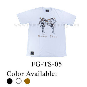 Human Fight Muay Thai Cotton t-Shirts-FG-TS-05