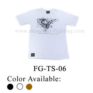 Human Fight Muay Thai Cotton t-Shirts-FG-TS-06