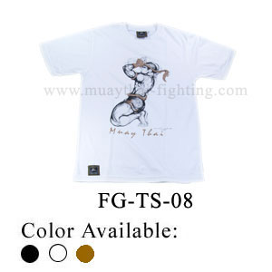 Human Fight Muay Thai Cotton t-Shirts-FG-TS-08