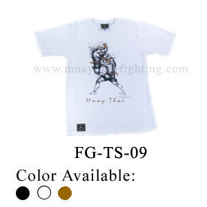 Human Fight Muay Thai Cotton t-Shirts-FG-TS-09