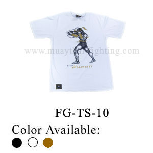 Human Fight Muay Thai Cotton t-Shirts-FG-TS-10