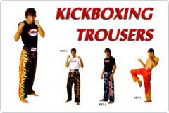 Kickboxing Trousers