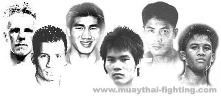 Muay Thai fighters videos