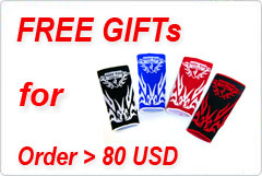 Free Gifts for Order > 80 USD