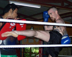 Muay Thai Training 1
