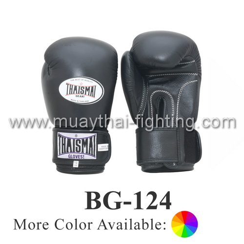 ThaiSmai Boxing Gloves Velcro Attached Thumb BG-124