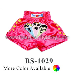ThaiSmai Muay Thai Shorts Power Puff Girls BS-1029