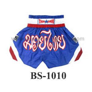ThaiSmai Muay Thai Shorts Three Stripes BS-1010