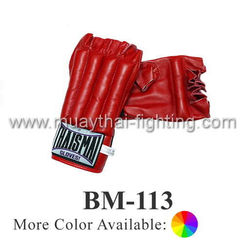ThaiSmai Training Bag Gloves Cut Finger BM-113