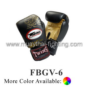 Twins Special Muay Thai Boxing Gloves Chinese Dragon
