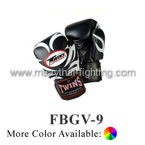 Twins Special Fancy Boxing Gloves Tattoo Pattern FBGV-9