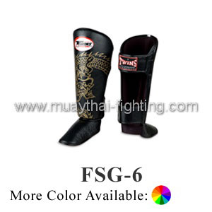 Twins Special Fancy Shin Protection Dragon FSG-6