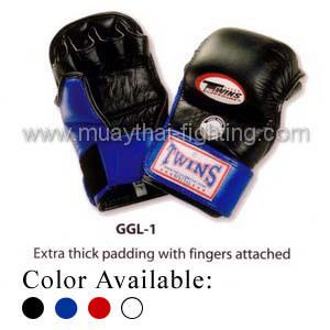 Twins Special Grappling Gloves MMA Extra Padded GGL-1