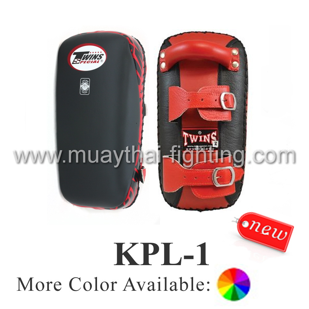Twins Special Kicking Pads Leather Belt KPL-1